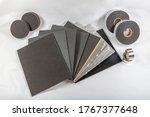 Small photo of Car sound insulation materials. Adhesive Insulation Sponge, Auto Sound Insulation Rubber Sponge Adhesive, Aluminum Foil Coated Rubber Tape, Car Sound Insulation Rubber Foam.