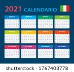 2021 calendar   vector template ...   Shutterstock .eps vector #1767403778