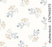 seamless background flying bird ...   Shutterstock .eps vector #1767443375