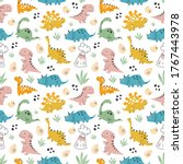 Kids Baby Pattern With Cute...
