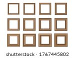 big set of squared vintage... | Shutterstock .eps vector #1767445802