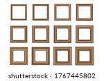 big set of squared vintage...   Shutterstock .eps vector #1767445802