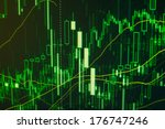stock trade on online market... | Shutterstock . vector #176747246