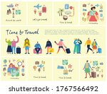 collage set of travel related...   Shutterstock .eps vector #1767566492