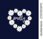 flower daisy colorful polka... | Shutterstock .eps vector #1767651875