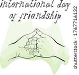 happy friendship day...   Shutterstock .eps vector #1767716132