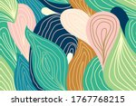 Seamless Pattern With Tropical...