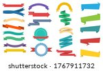 colorful stickers  labels...   Shutterstock .eps vector #1767911732