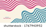 abstract striped background ... | Shutterstock .eps vector #1767943952