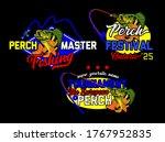 eurasian river perch fish....   Shutterstock .eps vector #1767952835