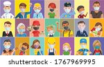 people mask for new normal...   Shutterstock .eps vector #1767969995