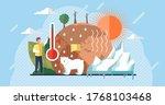 global warming illustration ... | Shutterstock .eps vector #1768103468