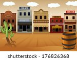 a vector illustration of old... | Shutterstock .eps vector #176826368