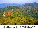 Fall Overlook at Shenandoah National Park