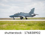 Fighter Aircraft On Runway