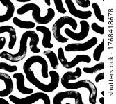 organic and bio vector seamless ...   Shutterstock .eps vector #1768418678