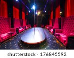interior strip club with sofas... | Shutterstock . vector #176845592