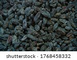 Black Dried Sultanas In The...