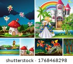 Six Different Scene Of Fantasy...