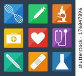 medical icons. set of icons ...