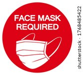Face Mask Required Symbol Sign  ...