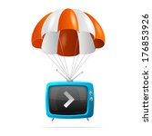 antenna,box,broadcast,broadcasting,card,cartoon,channel,chat,compact,deliver,delivery,design,dialog,display,electric
