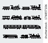 Vector Isolated Trains...