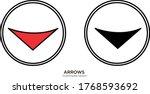 multimedia arrow vector...