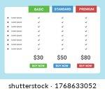 flat box price list design...