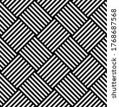 black and white hypnotic...   Shutterstock . vector #1768687568