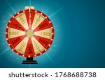 wheel of fortune  lucky icon...   Shutterstock . vector #1768688738