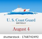 united states coast guard...   Shutterstock .eps vector #1768742492