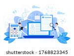 healthcare insurance vector... | Shutterstock .eps vector #1768823345