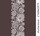 vector lace tropical seamless... | Shutterstock .eps vector #1768865975