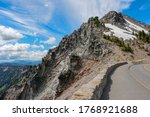 Road Around Of Crater Lake...