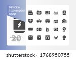 device and technologi icon pack ...