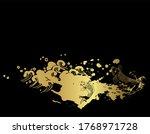 Gold Black Fish Japanese...