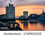 The Old Harbor Of La Rochelle...