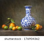 Still Life With Chinese Vase...