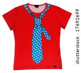 shirt tie | Shutterstock . vector #17692699
