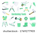 garden tools. illustration ... | Shutterstock .eps vector #1769277905
