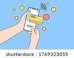 online payment  technology ... | Shutterstock .eps vector #1769323055