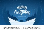 vector illustration  winter... | Shutterstock .eps vector #1769352548