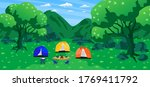 tourism travel to relax camping ... | Shutterstock .eps vector #1769411792