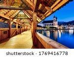 Lucerne City  Switzerland  View ...