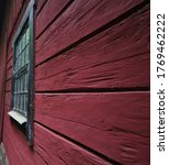 Old Wall And Window On Barn