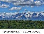 Alaska Mountain Range  Denali...
