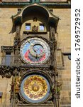 Astronomical Clock At Old Town...