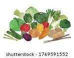 vector illustration of assorted ... | Shutterstock .eps vector #1769591552