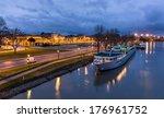 A Boat At Avignone Moorage  ...